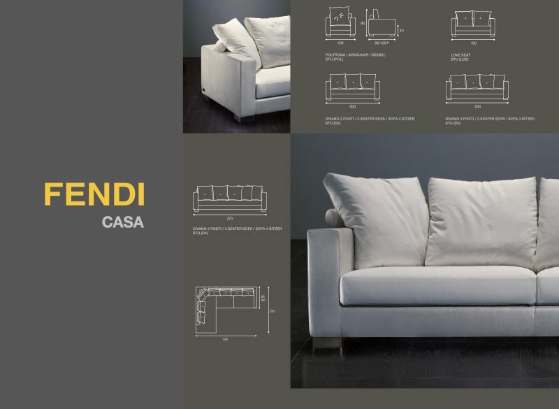 Catalogo communication and design studio for Fendi casa catalogo