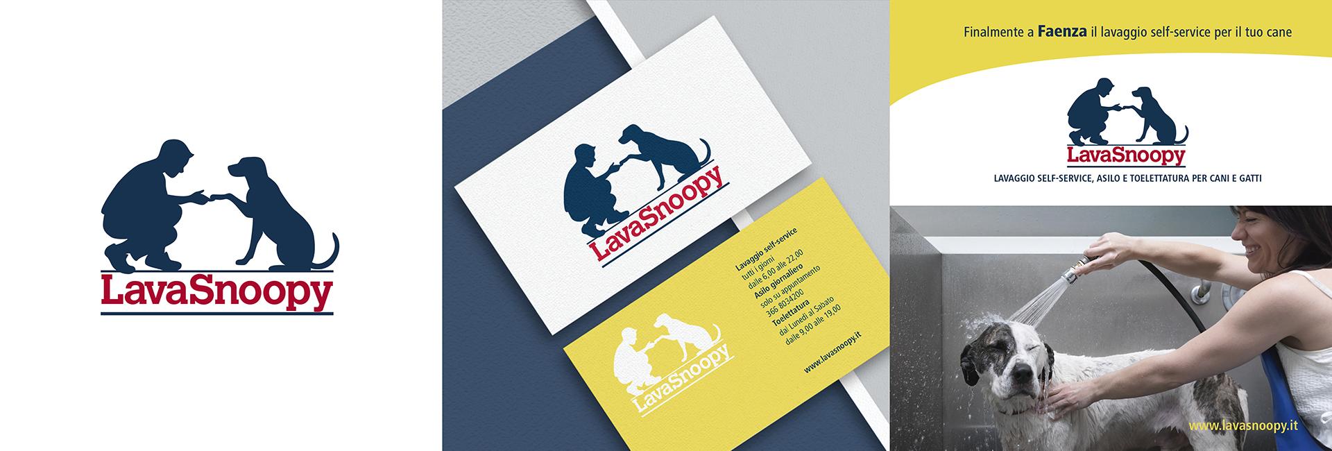 LavaSnoopy: logo design e coprorate identity